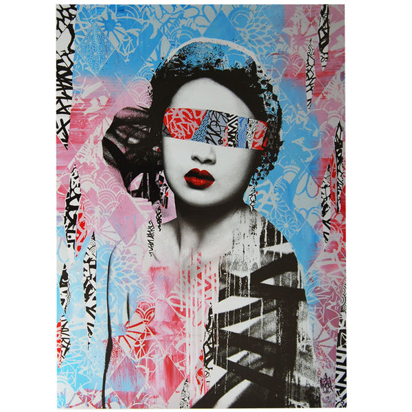 Trials and Errors limited edition print by HUSH