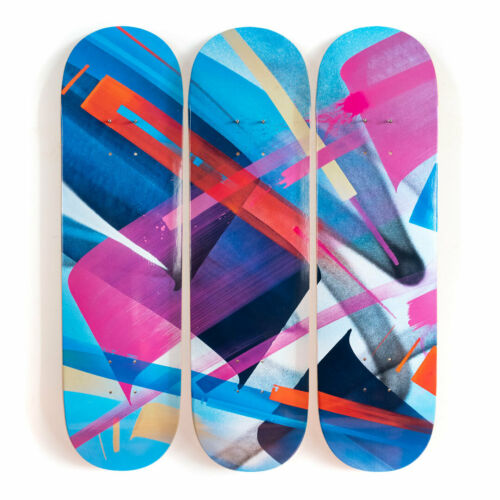 MadC Skateboards Tryptych