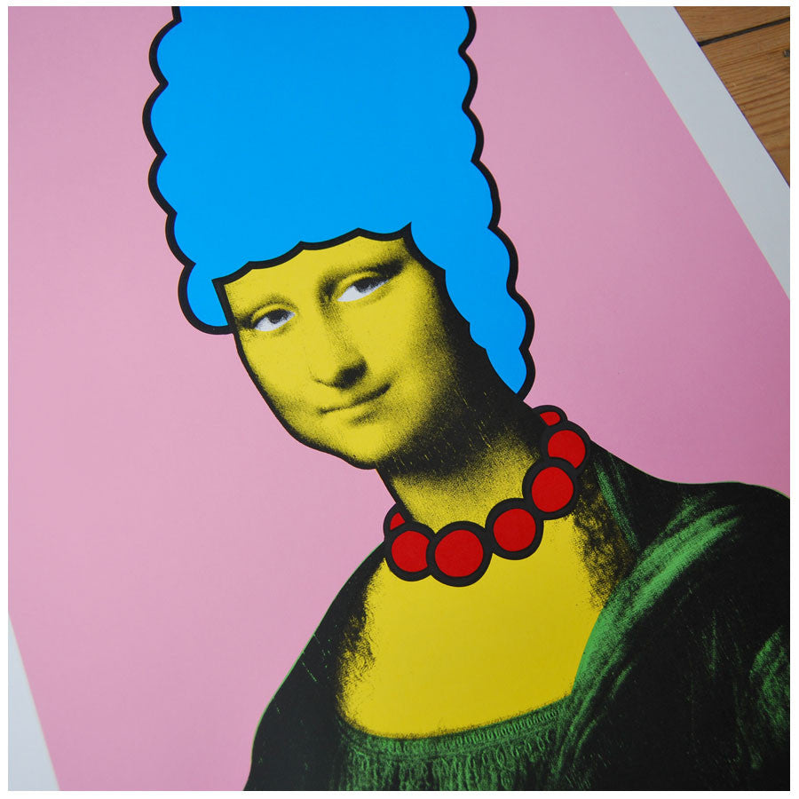 Nick Walker Mona Simpson print