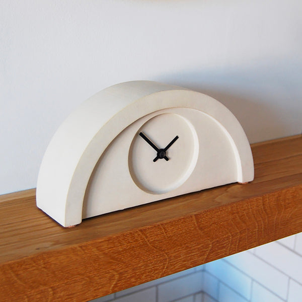 New Deco Clock in Portland Stone