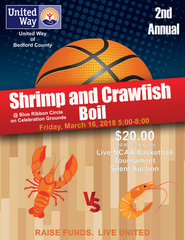 2nd Annual Shrimp and Crawfish Boil