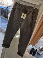 Leatherlook magic pants