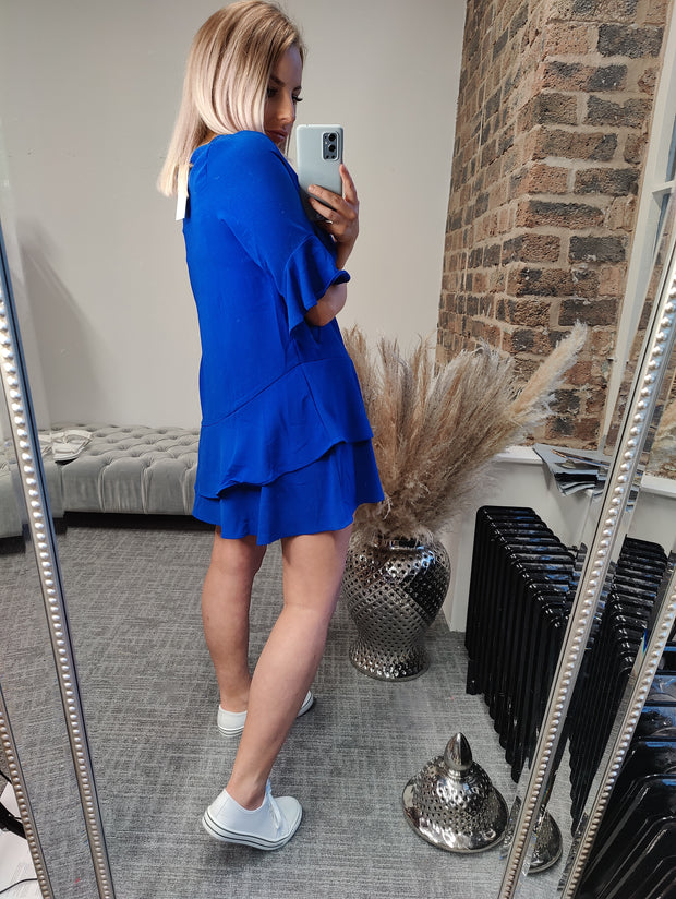 The Cobalt Dress