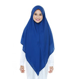 Chiffion Scarf Multi Color Islamic Hijab with Two Sides Wearable