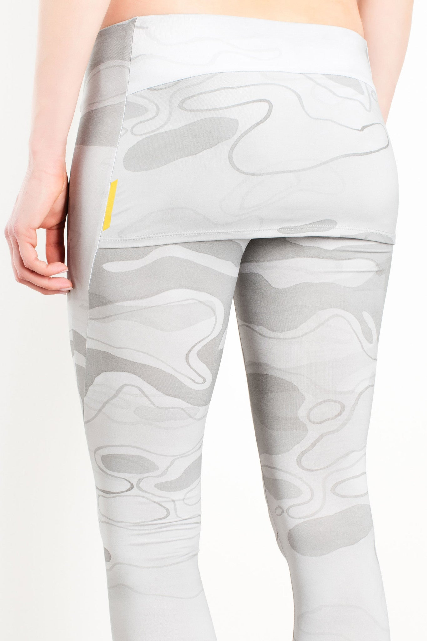Fiume Cropped Sleggings / Grey Camo