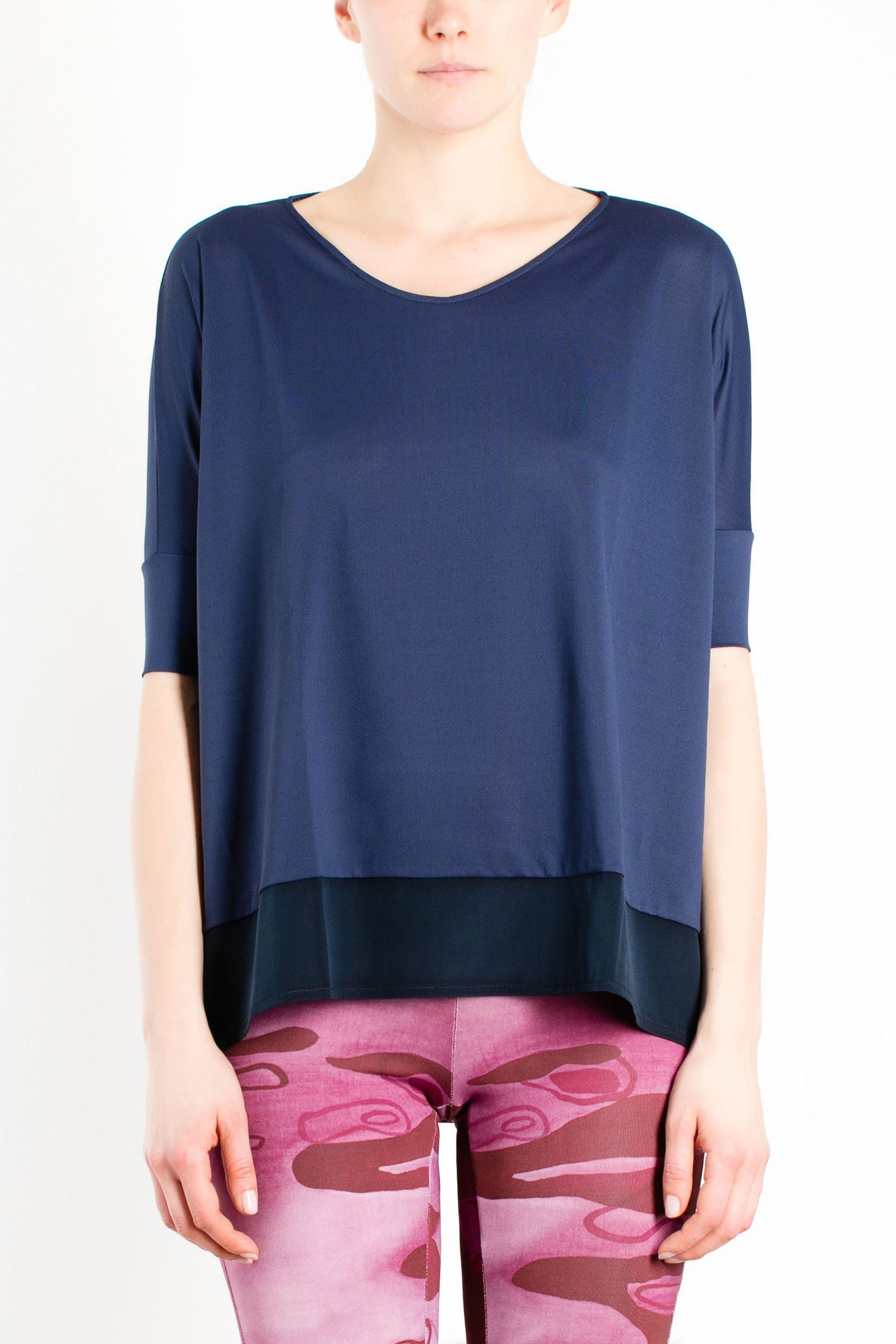 Birma Loose T-shirt / Blue