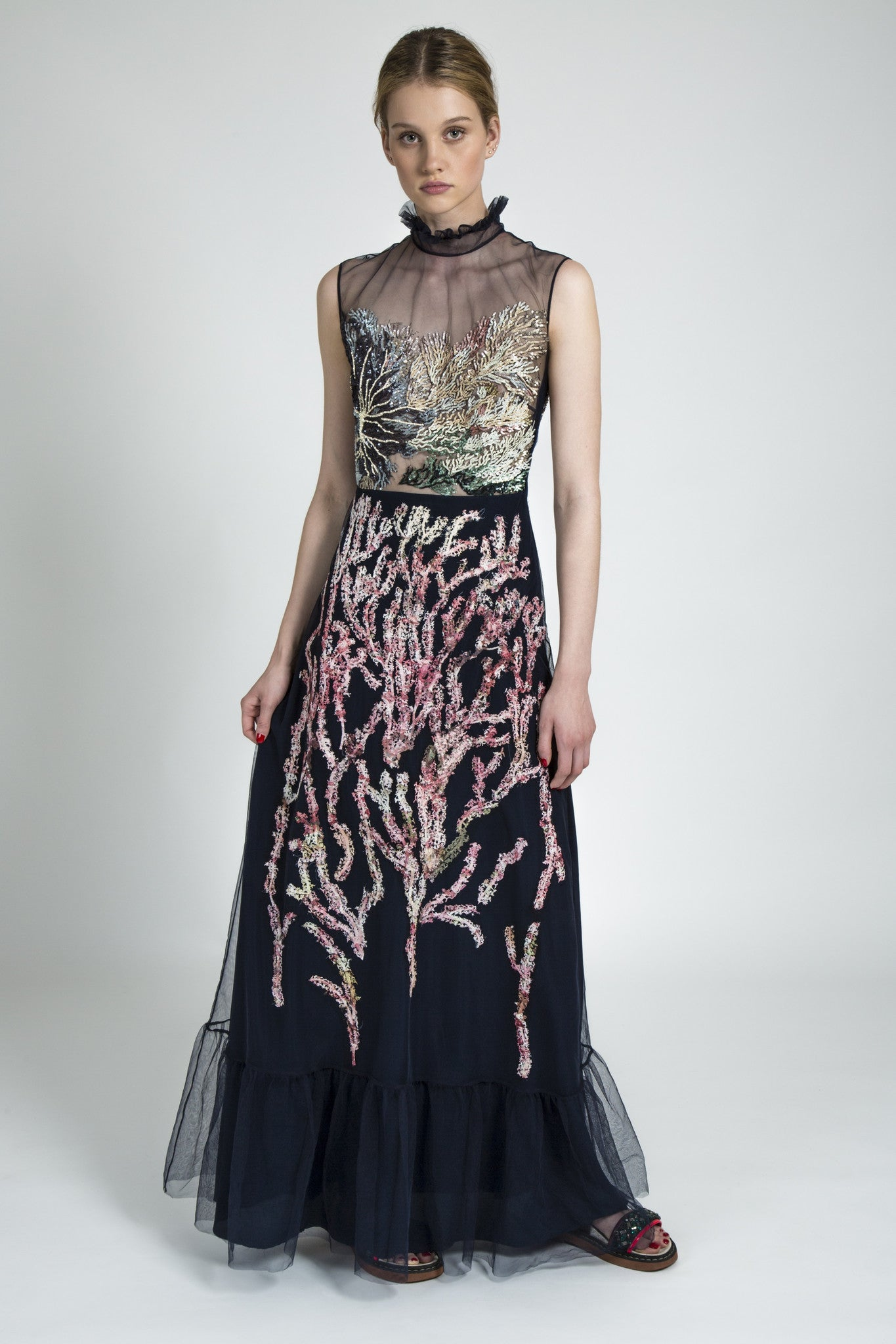Alice Archer – Emma Embroidered Gown
