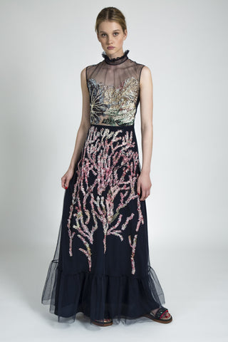 Emma Embroidered Gown