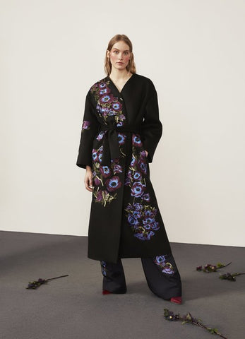 Hadley Embroidered Coat