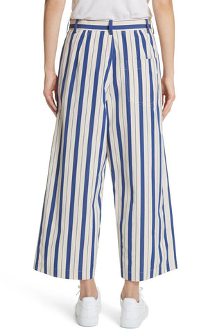 Cotton Provence Trousers - Blue Lagoon