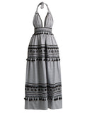 David Halter Cotton Maxi Dress