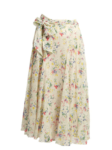 Ashmore Floral Wrap Skirt