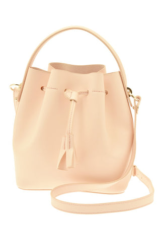 de094420a635 ... Karin Leather Mini Bucket Bag - Pale Pink