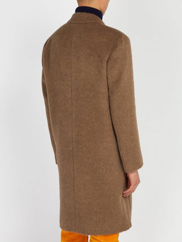 Alpaca And Wool-Blend Overcoat