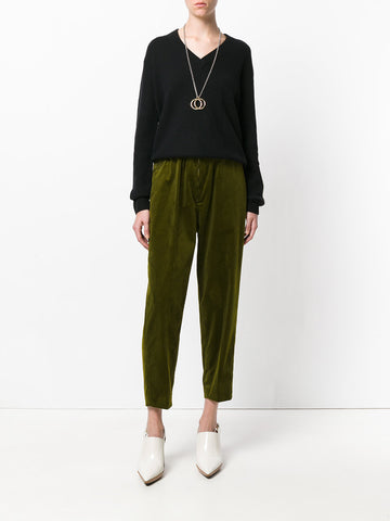 Podium Corduroy Ankle Trousers