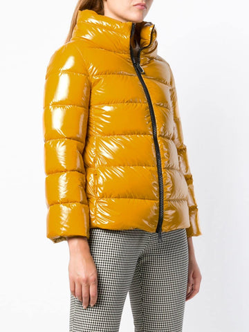 Padded Zip Jacket - Yellow