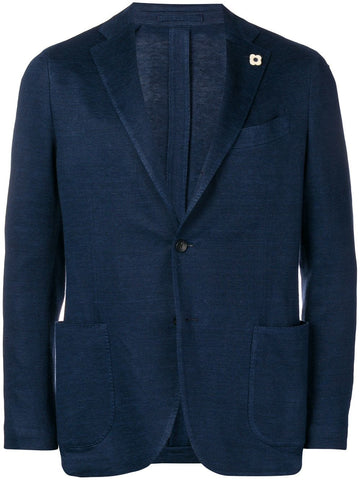 Supersoft Cashmere Jacket - Navy
