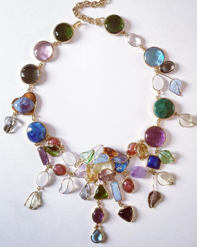 Multicolored Garden Necklace
