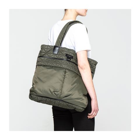 Copy of Vee Shopper Tote - Khaki