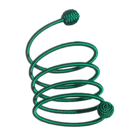 Coil Twist Thread Bracelet - Green