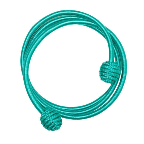Coil Twist Thread Bracelet - Turquoise