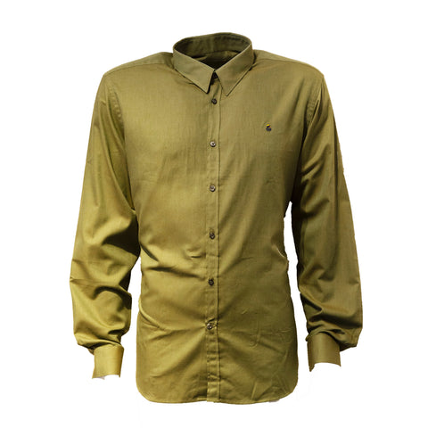 Green 100% Cotton Shirt