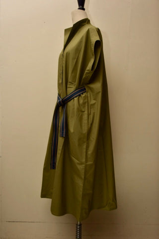 Delicious Cotton Dress - Olive