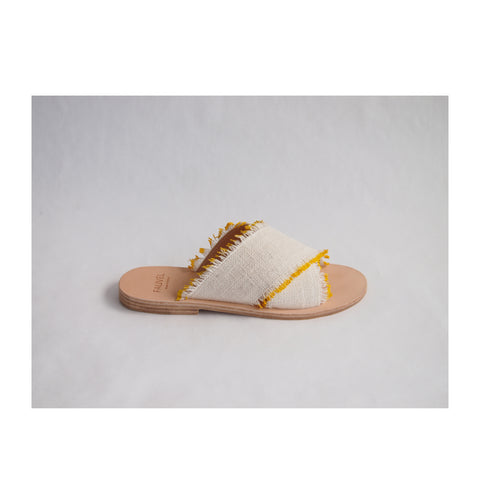 Yellow Stripe Sandal