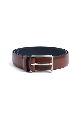 Classic Tan Leather Belt