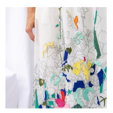 **PRE ORDER** Marie-Agnes Coloriage Skirt