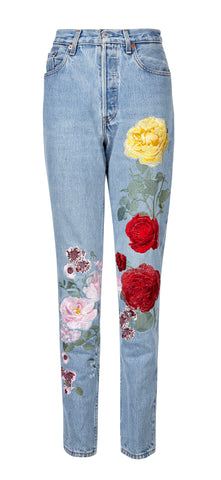 Levi's 501 Original Vintage Embroidered Jeans