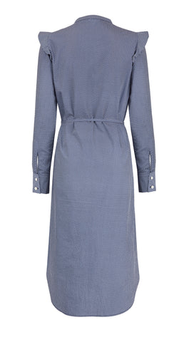 Francoise Cotton Shirt Dress