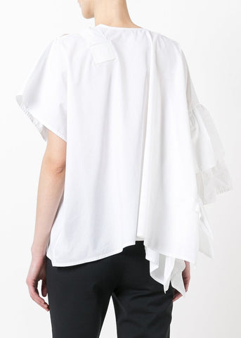 Bee Cotton Top - White