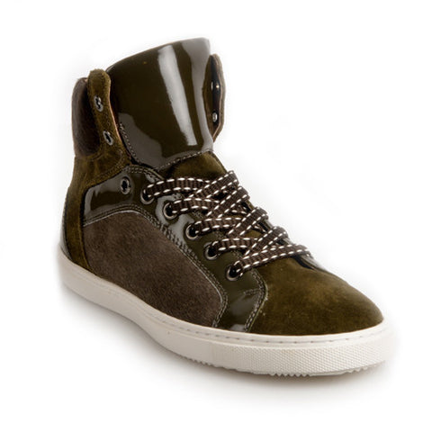 FALKLAND Olive high-top Sneaker