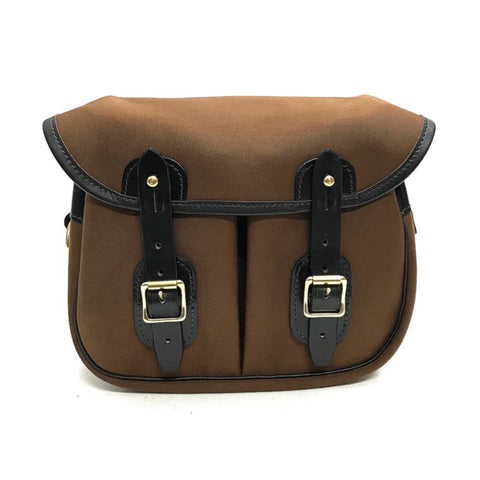 Norfolk Mini Canvas Bag - Hazelnut