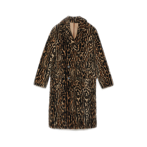 Brown Lacon Lamb Coat