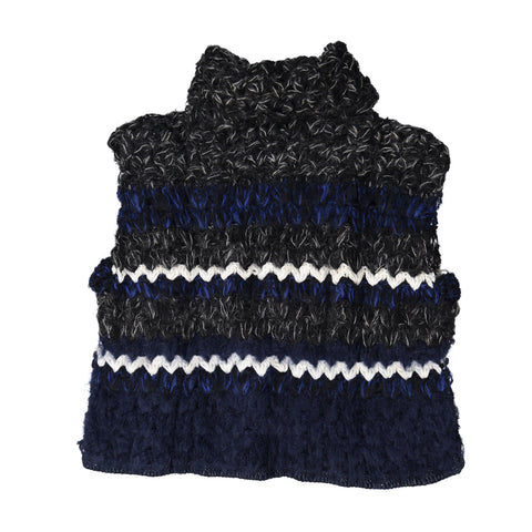Crocheted Sleeveless Knit