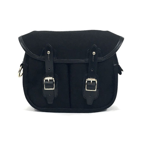 Norfolk Mini Canvas Bag - Black