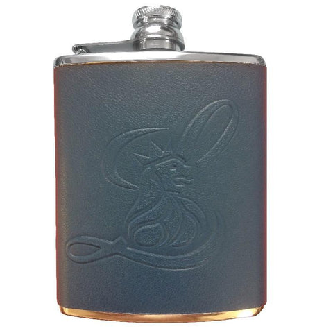 Flask - Smooth Leather