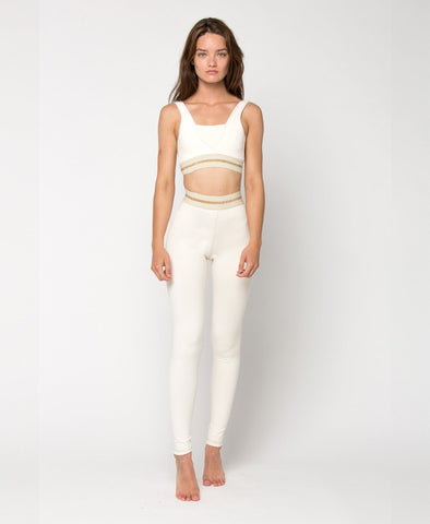 AH Leggings - White