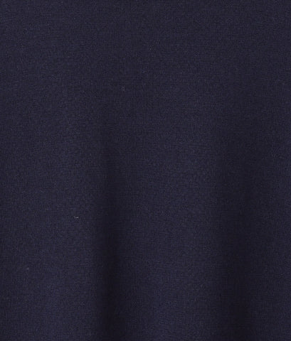 Grace Cashmere Crew Sweater - Navy