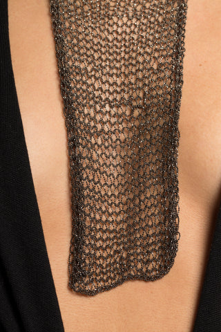 Aicha Mesh Chain Necklace - Small