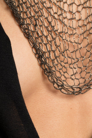 Divine Mesh Chain Necklace