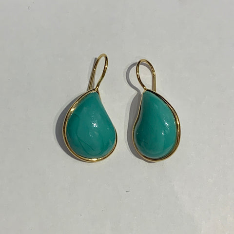 Teardrop Earrings - Turquoise