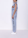 Summer Monkeys Cotton Jumpsuit