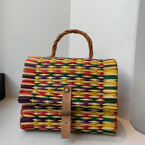 Traditional Straw Bag - Multi