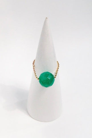 Gembuds Green Agate Ring