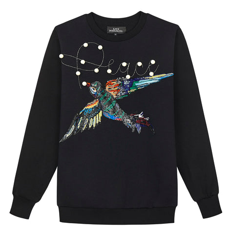 Bird & Peace Sweatshirt - Black