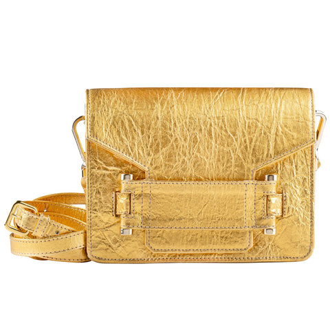 Gold Pinatex Jolie Bag