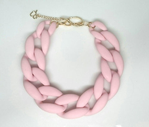 Nathan Matte Pink Quartz Necklace